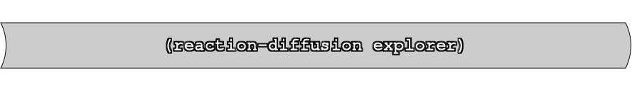 reaction-diffusion explorer